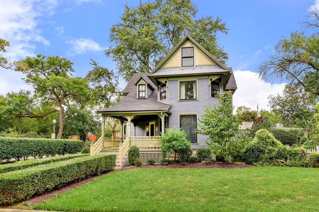 Restored Remodeled Queen Anne Victorian House