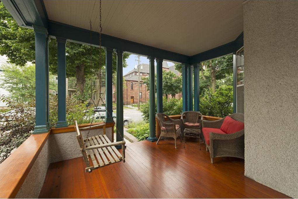 A Modest Folk Victorian Home Exterior Hides A Nicely Updated Modern