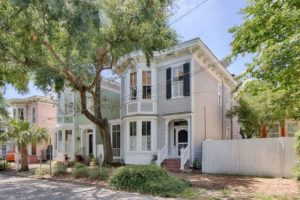 1600 Square Feet of Restored Italianate House Charm in Savannah, GA