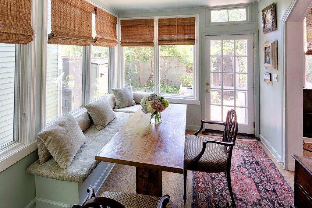 Restored Italianate House Breakfast Room Addition