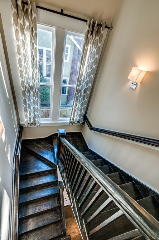 Remodeled Craftsman Bungalow Stairway