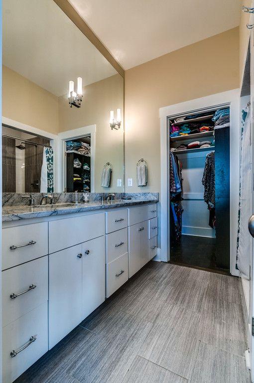 Remodeled Craftsman Bungalow Master Bathroom