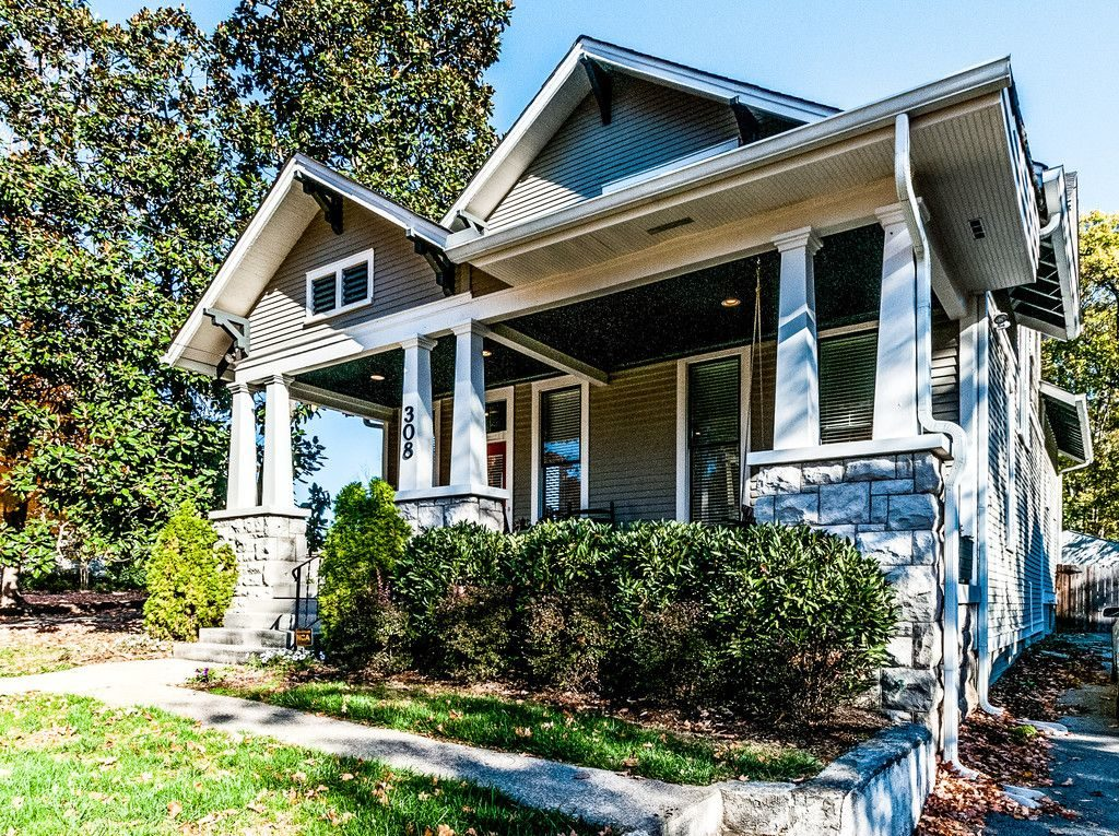Remodeled 1915 craftsman bungalow in nashville with a - What is a bungalow style home ...