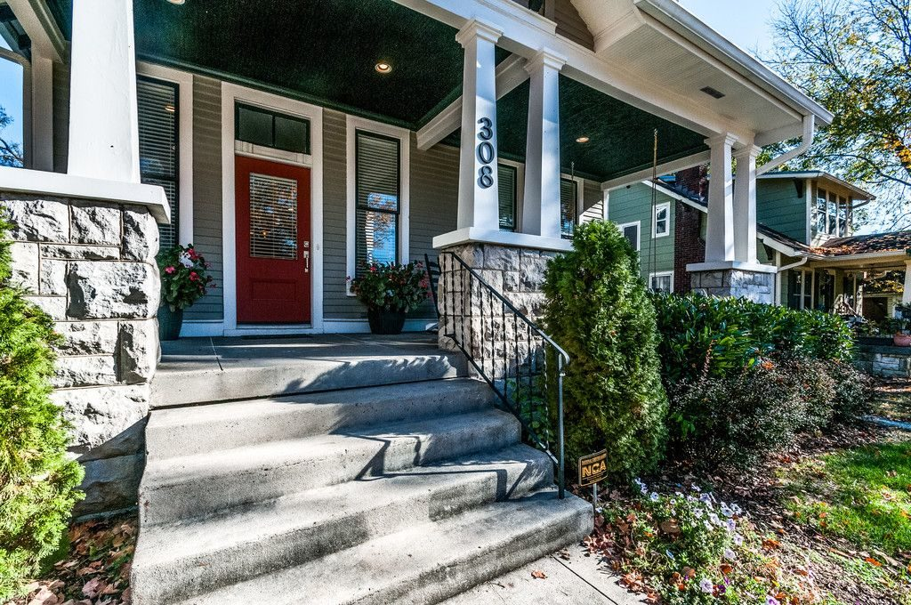 Remodeled Craftsman Bungalow Front Porch