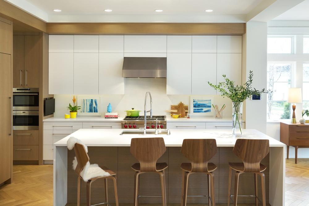 Contemporary Kitchen Stainless Steel Range Hood