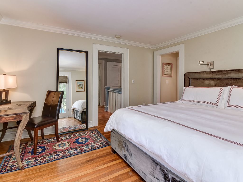 Colonial Two-Story Home bedroom