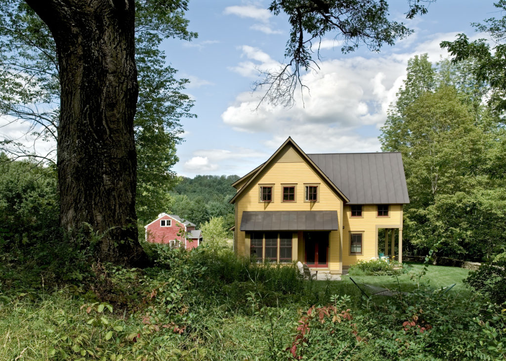 New Custom Farmhouse standing seam metal roof
