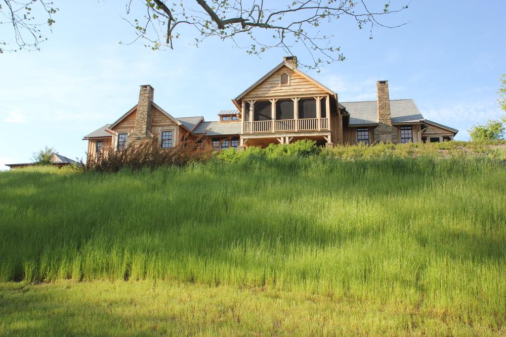 Pennsylvania Farmhouse Natural Wood Siding