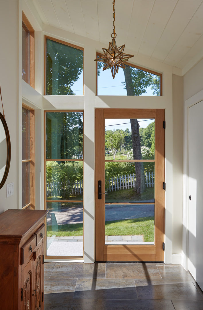 Split Foyer Windows : An awesome update of a split level mid century modern home
