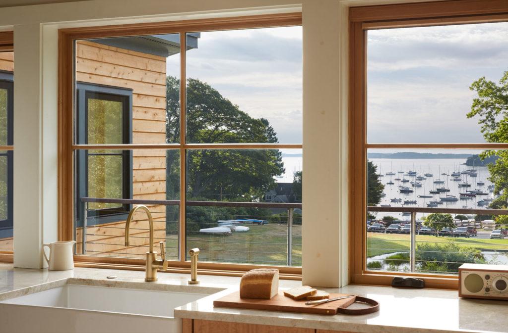 Mid-Century Modern home remodel addition big windows