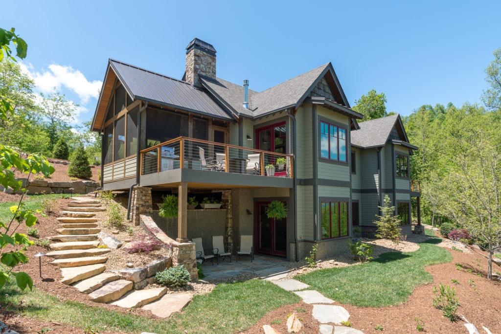 Craftsman Mountain Cabin Cottage