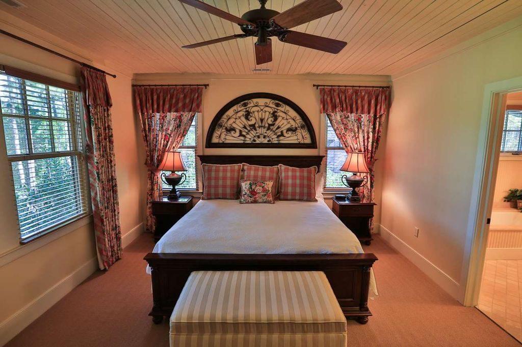 Beadboard Ceiling Bedroom