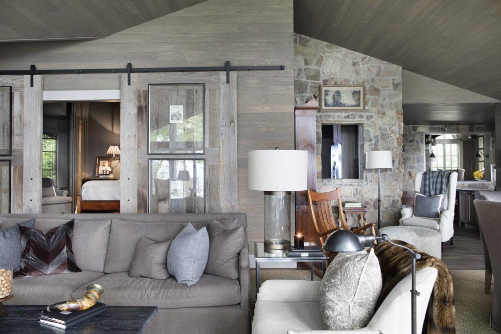 Rough Sawn Doors, Barn Door Hardware, Wood Ceiling