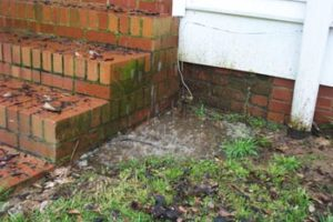 Broken, rusted, or disconnected downspouts are the #1 cause of wet basements