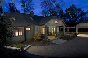 Two Parts Add Up to One Great Craftsman Cottage in the Blue Ridge Mountains