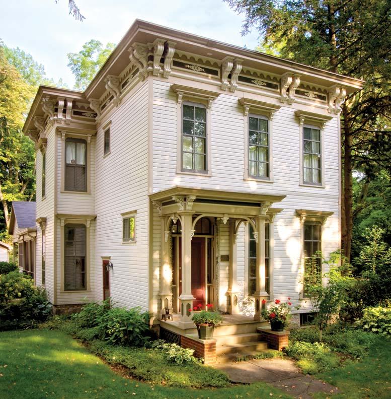 Italianate House Style Cottage