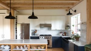 Renovated Barn + Farmhouse Addition = A Great Custom Home
