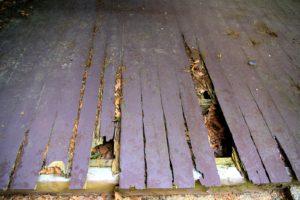 Hidden problems older homes rotting wood