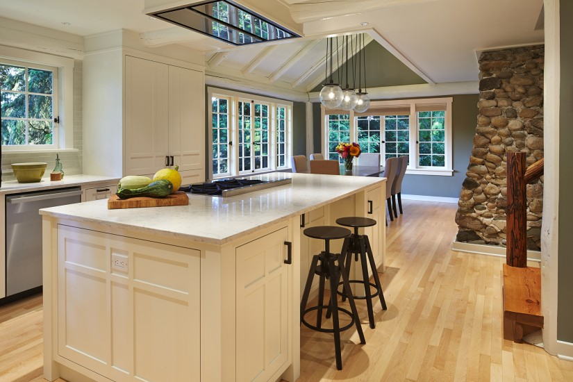 Modern Kitchen in an Arts and Crafts Bungalow
