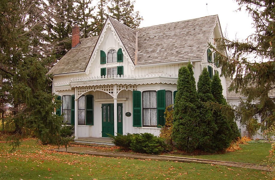American House Styles Learn The Basics: ontario farmhouse plans
