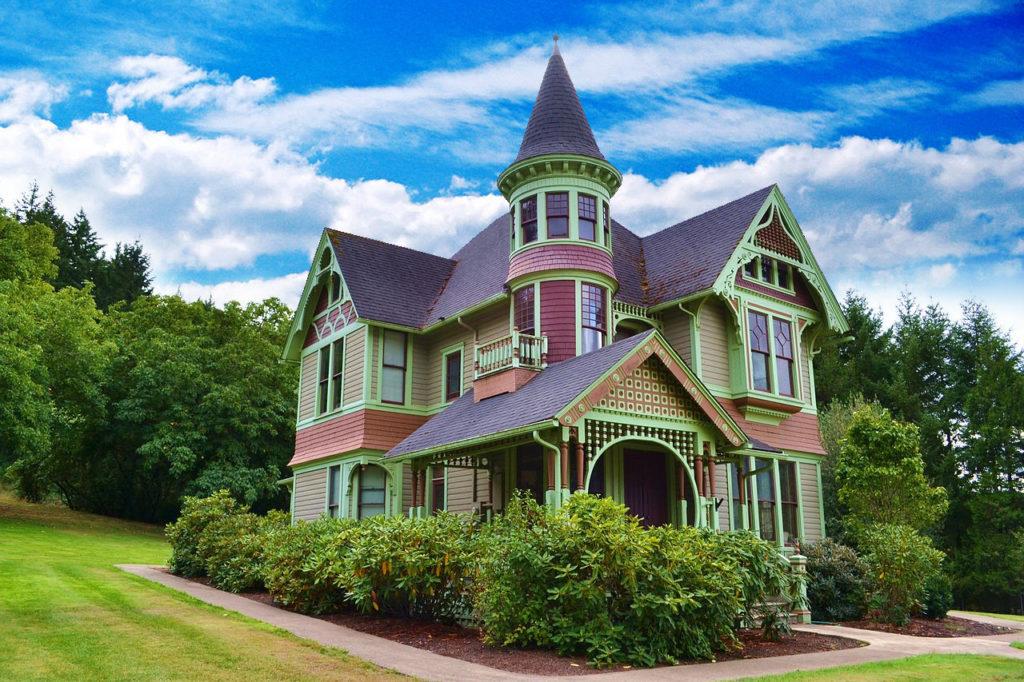 Queen Anne Victorian Home