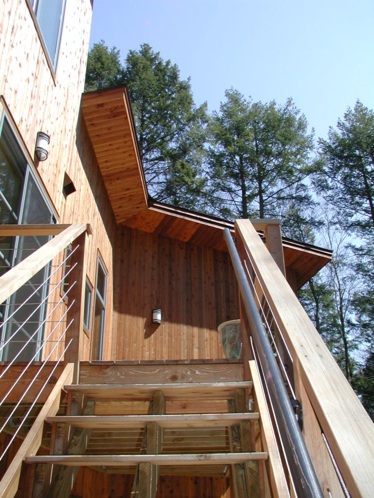 Two Bicyclists Build A Contemporary Cedar Home in the Woods | The ...
