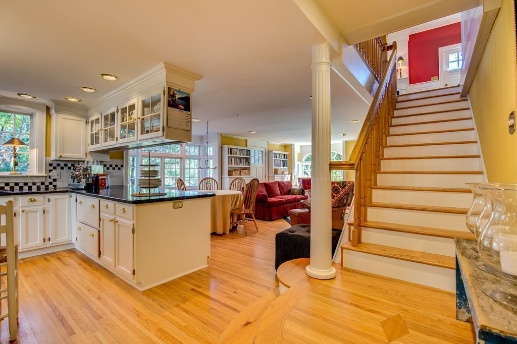 Open Stairway and Open Kitchen