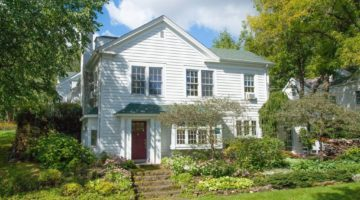 This Charming 1854 Minnesota Greek Revival Home Has Been Completely Updated and Renovated