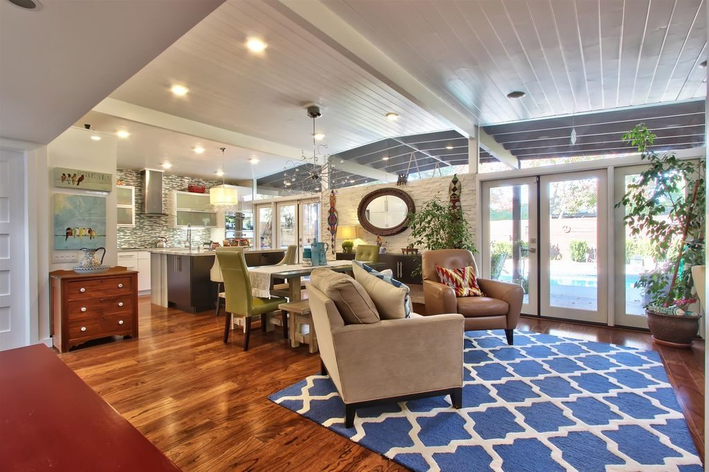 Super Remodeling of a Classic California Contemporary, Mid-Century ...