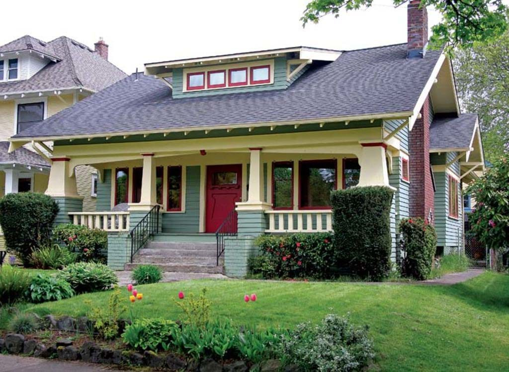 House style craftsman bungalow the modest mansion - What is a bungalow style house ...