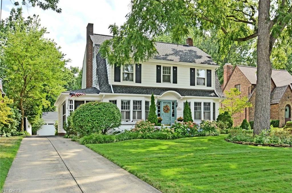 Rocky River Updated Dutch Center Hall Colonial Full Of Original Charm The Modest Mansion
