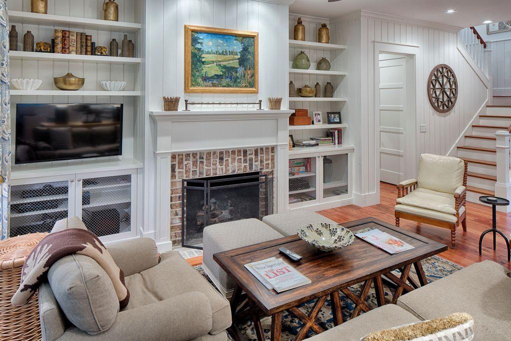 white siding cottage