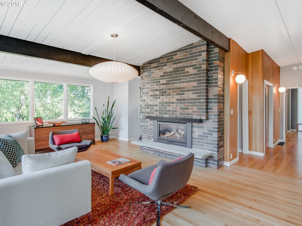 mid century modern home remodel