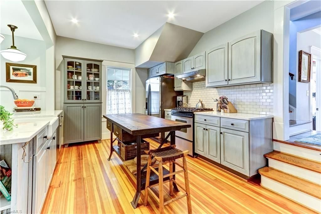 Remodeled American Foursquare Home