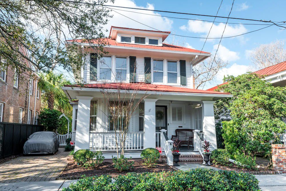 restored Charleston two story home